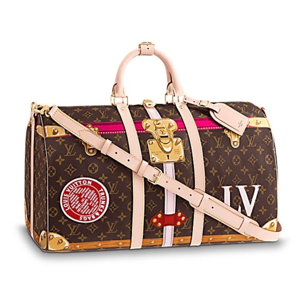 90d8b1f6a6f3 Authentic Limited Edition LV KEEPALL Travel Bag